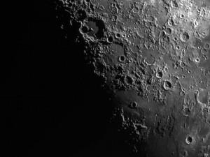 The moon taken with a ASI130 through a Celestron EDHEHD8